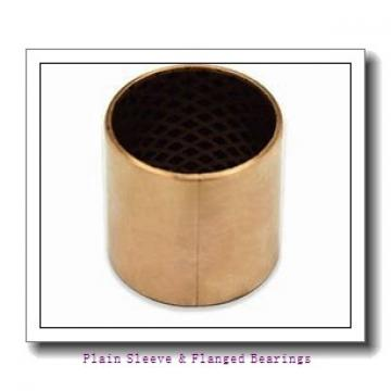 Oilite AA432-03 Plain Sleeve & Flanged Bearings